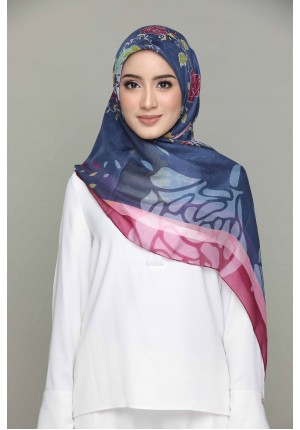 Forbiden Love-Classic Shawls-Digital Printed Silk
