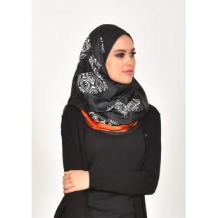 Batik Ahmar-VOILA-Printed J-Satin