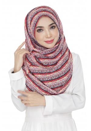 Batik Art-VOILA!-Printed  Chiffon Drape