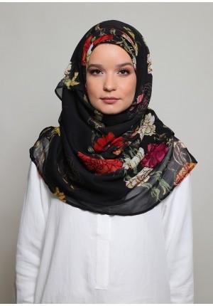 Qurunful-VOILAMAXI-Printed Smooth Chiffon