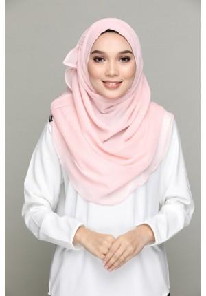 ZAHRI (pink shade) -VOILA MAXI-BASICS Plain Lite Chiffon