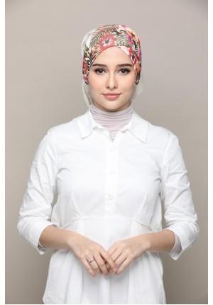 Malaysia -Cross Inner-Printed Smooth Chiffon