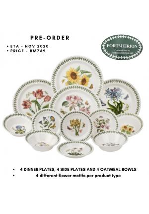 Portmeirion Botanic Garden 12 Piece Dinner Set (1st Quality)