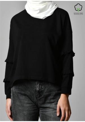 Black-T-Shirt Peony