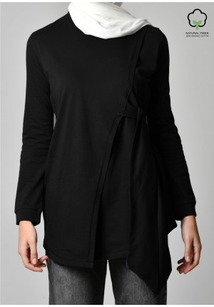 Black-T-Shirt Calla Lily