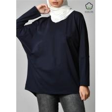Navy-T-Shirt Pansy