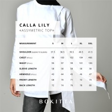White-T-Shirt Calla Lily