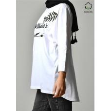 BOKITTA LOVERS WHITE-T-Shirt Pansy Long