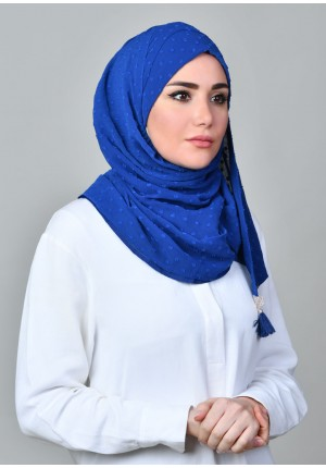 Falaki-CHIC MINI-Plain Crinkled Butti Chiffon
