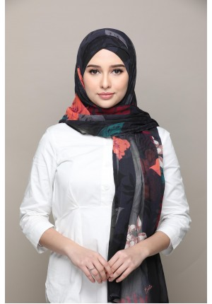 Eden-FREE STYLE-Printed Mosaic Chiffon (Exclude Inner)