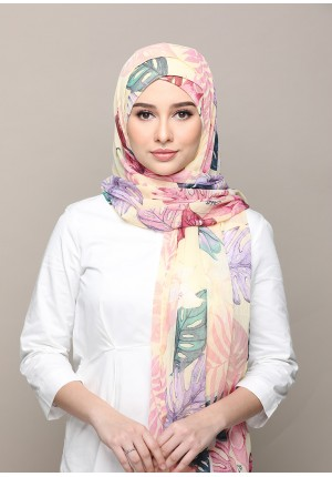 Shangrila-FREE STYLE-Printed Mosaic Chiffon (Exclude Inner)