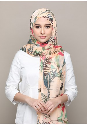 Paradise-FREE STYLE-Printed Mosaic Chiffon (Exclude Inner)