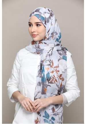 Vera Sky-FREE STYLE-Printed Mosaic Chiffon (Exclude Inner)