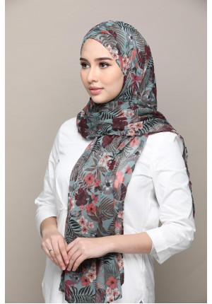Nirvana-FREE STYLE-Printed Mosaic Chiffon (Exclude Inner)