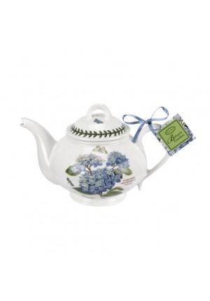 Portmeirion Botanic Garden Teapot Hydrangea 2pt