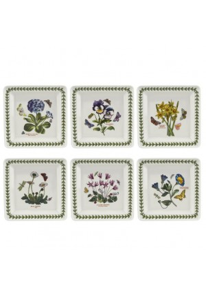 Botanic Garden 7inch Square Plate Single 1st Quality(PRICE EXCLUDE SHIPPING)