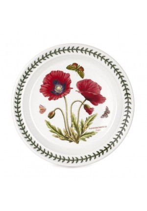 Botanic Garden Seconds 8 Inch Plate Single (PRICE EXCLUDE SHIPPING)