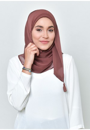 Fudge-Chic Mini-BASICS Plain Lite Chiffon