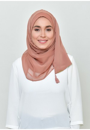 Sun-Kissed-Chic Mini-BASICS Plain Lite Chiffon