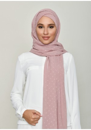 Nostalgia Rose-Free Style with Xinner-Plain Swiss Dot Chiffon (Include Inner)