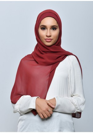 Redy-Free Style-Plain Crepe Chiffon (include inner)