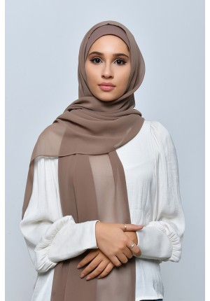 Wet Sand-Free Style-Plain Crepe Chiffon (include inner)