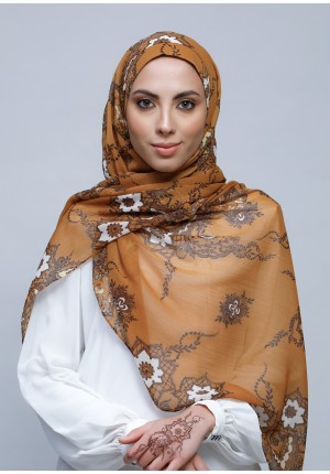 Unity-Free Style with Bokitta Inner-Printed Crinkled Chiffon (Include Inner)