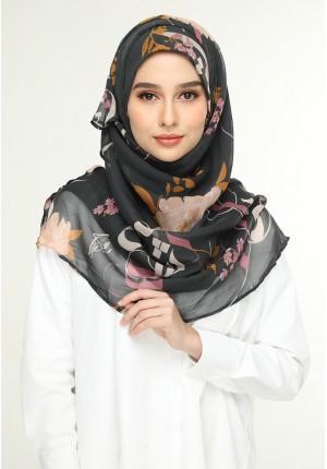 Jameela Gray-Voila!Maxi-Printed Smooth Chiffon