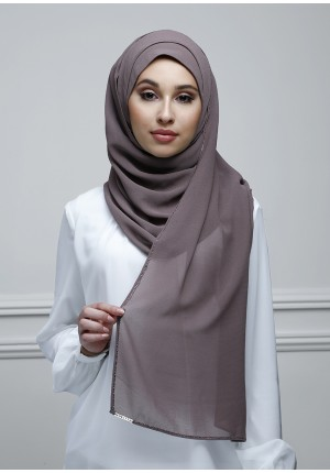 Plum Truffle-Jolie-Plain With Charms Georgette