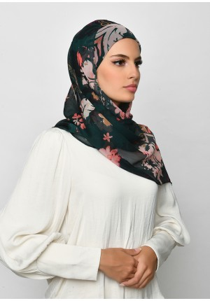 Sound Of Music-Free Style with Xinner-Printed Crinkled Chiffon
