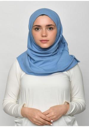 Blue-SlipOn-Polo Cotton-Large / Short