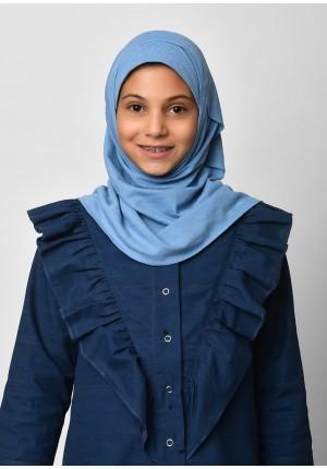 Blue-SlipOn-Polo Cotton-Small / Short