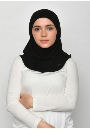 Black-SlipOn-Polo Cotton-Large / Short