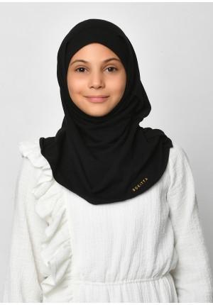 Black-SlipOn-Polo Cotton-Medium / Short