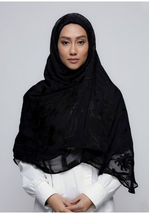 She Black-Chic!Maxi-Plain Brasso