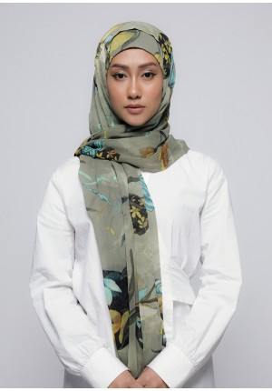 Love Is In The Air-Free Style with Bokitta Inner-Printed Crinkled Chiffon