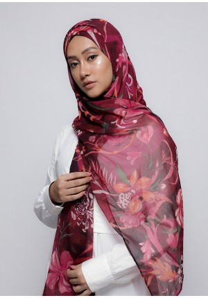 Light My Fire-Free Style with Xinner-Printed Crinkled Chiffon